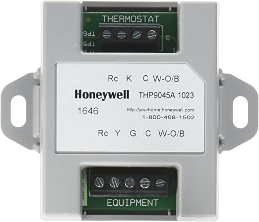 Honeywell THP9045A1023 Wiresaver Wiring Module for Thermostat on honeywell thermostats baseboard, honeywell log, zone valve wiring, th4110d1007 wiring, trane air conditioners wiring, honeywell rth2510, honeywell ct87n4450, honeywell pro 5000 owner's manual, honeywell thermostats focuspro 5000, rth2310 wiring, honeywell th3000 installation guide, rth230b wiring, honeywell prestige iaq redesigned, honeywell blower relay, honeywell add a wire, american standard wiring, hoover vacuum wiring, honeywell wi-fi focuspro 6000, th5220d1003 wiring, honeywell heat thermostats instalation,