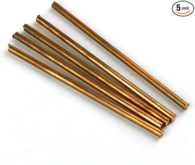 Length 200mm 1pcs 99.9/% Pure Copper Cu Metal Rod Cylinder Diameter 6mm