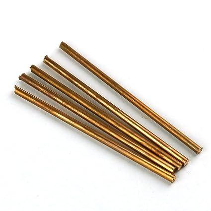 99,9% puro cobre Cu Metal Varillas Cilindro 5 unidades, diámetro 4 ...