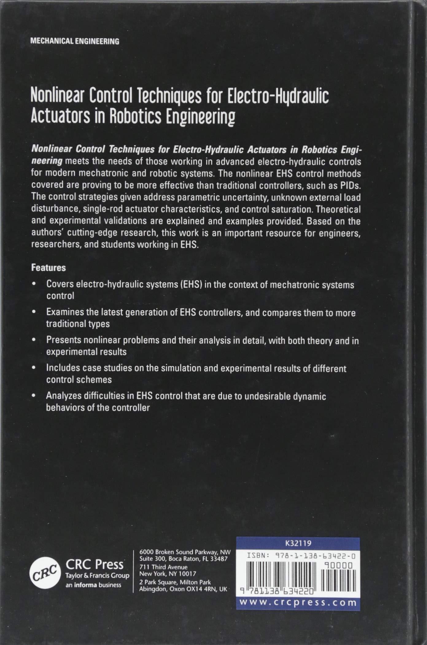 Nonlinear Control Techniques for Electro-Hydraulic Actuators