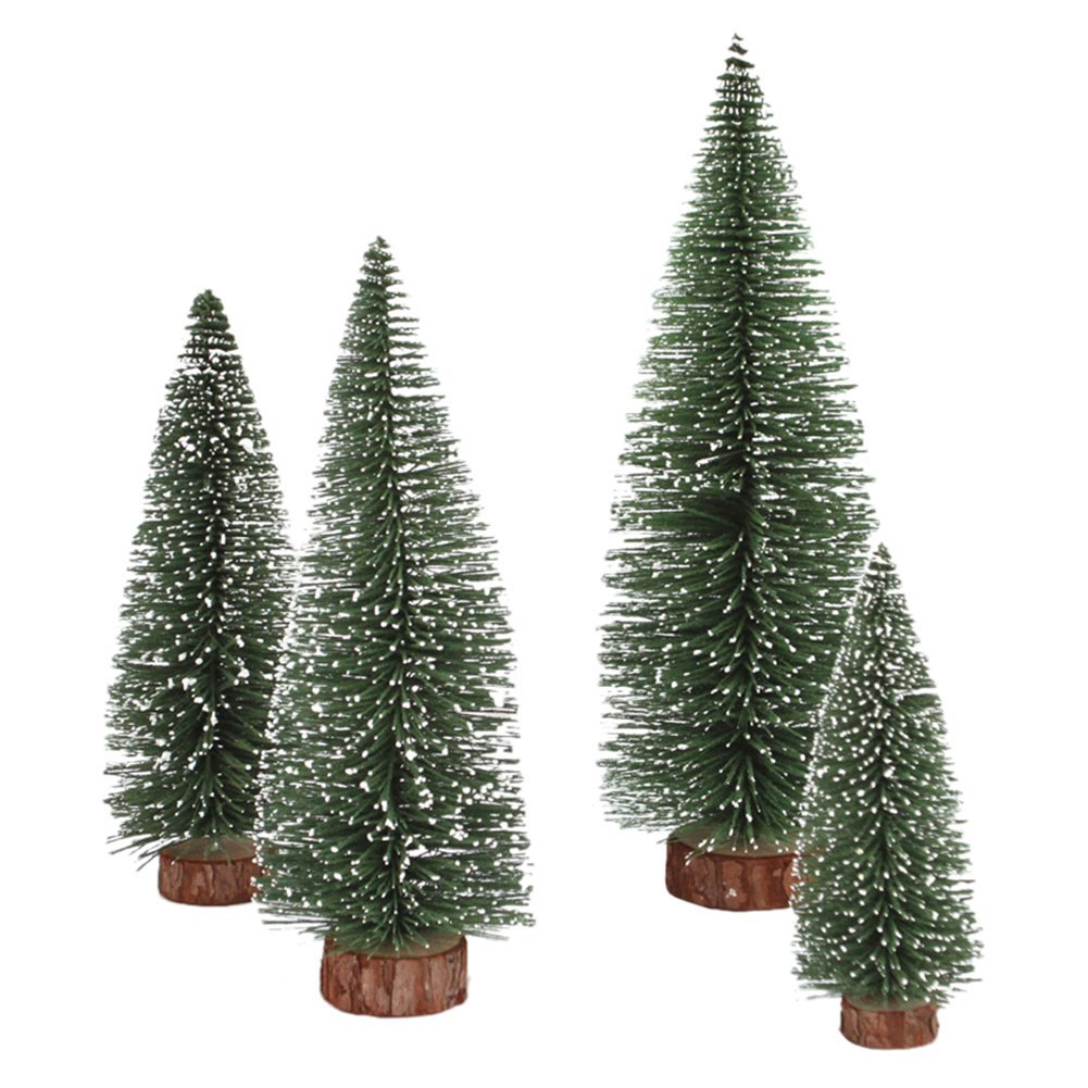 Remeehi Artificial Slim Christmas Tree Table Decorations 10cm