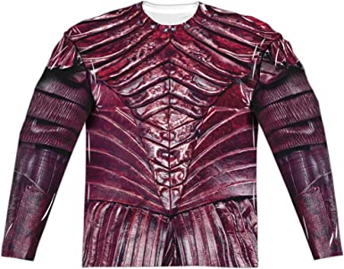 Star Trek Discovery REAL KLINGON UNIFORM Costume Long Sleeve Poly T-Shirt