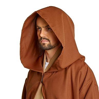 Largemouth Men s Jedi Sith Robe Cloak Costume Brown Black (Small Teen (48 680311941