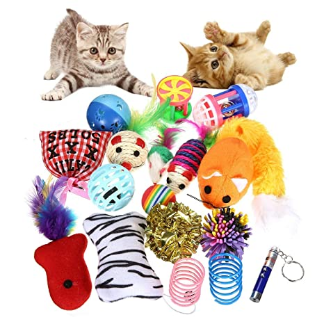 Juguete para Gato, Kit de Juguete para Gato, Que Incluye un Juguete Interactivo con