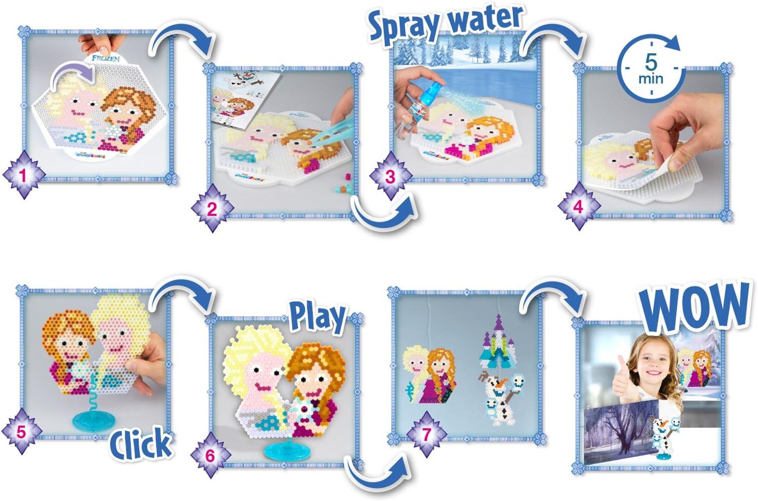 Multi-Colour CRAZE Fuse Splash BEADYS Beginner Set Boys Water Beads Craft Kit 15278