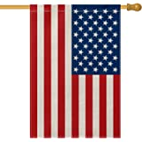 AVOIN American US Flag House Flag Vertical Double Sided, Patriotic Flag of The United States Stars and Stripes Old Glory…