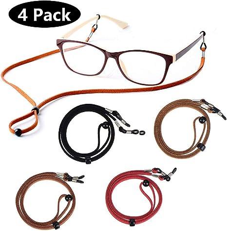 Premium ECO Leather Eyeglass Lanyards Straps Eye Glasses String Holder Chain