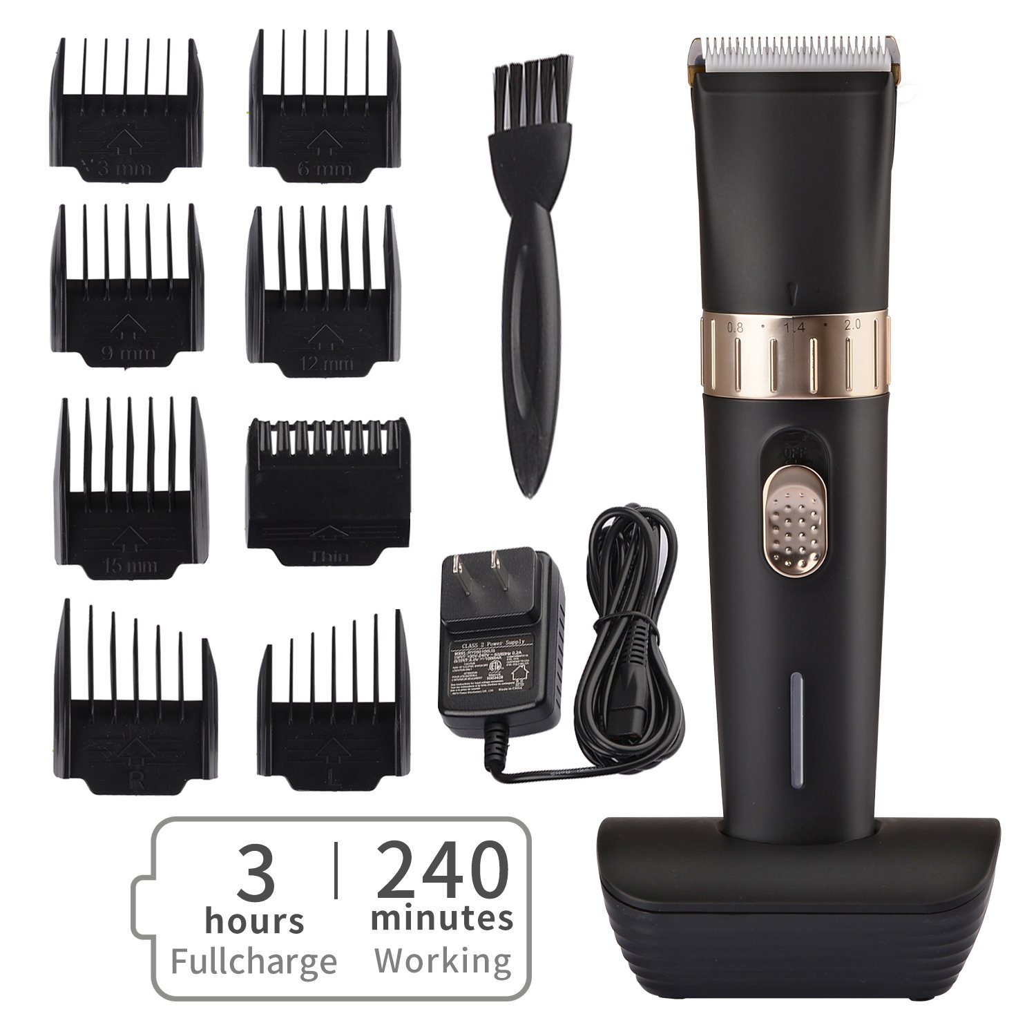 Powerful Clippers - Small & Lightweight - Makes a Great Beard Trimmer