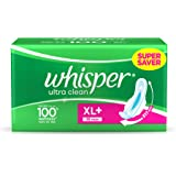 Whisper Ultra Plus Sanitary Pads XL Plus - 30 Count