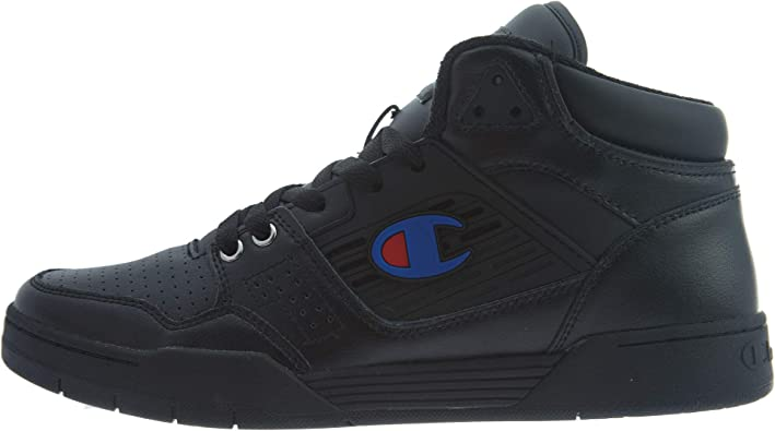 Champion Mens 3 On 3 Leather Sport Mid