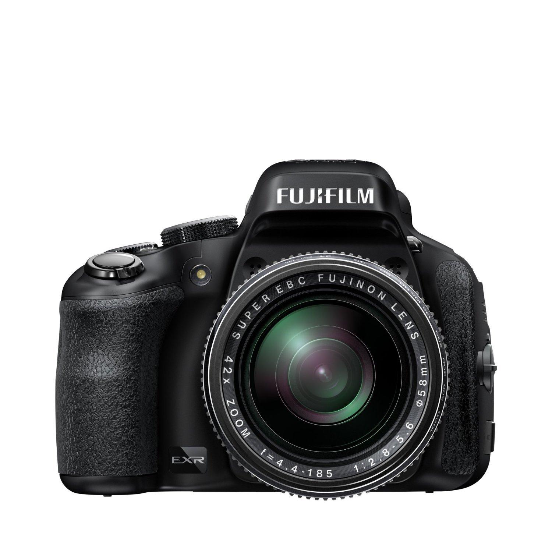 Fujifilm FinePix HS50EXR Fotocamera Digitale 16 Megapixel, Sensore CMOS EXR II, Zoom 42x 24-1000 mm, Stabilizzatore Meccanico, Batteria al Litio, Nero product image