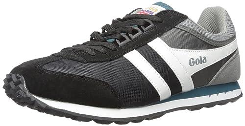 Gola Boston, Zapatillas para Hombre, Negro (Black/Grey/Teal), 40 EU