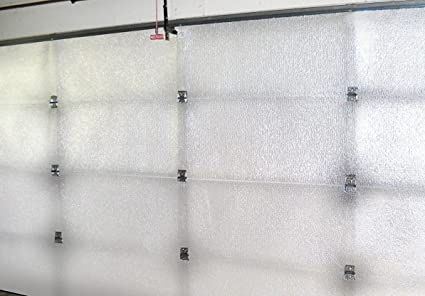 NASATech White Foam Core Garage Door Insulation Kit 10L X 8H R Value U0026 Made  In
