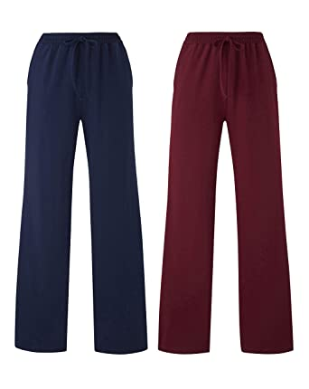 JD Williams Womens Pack of 2 Straight Leg Soft Stretch Jersey Trousers  Regular  Amazon.co.uk  Clothing aeffb1e3cf