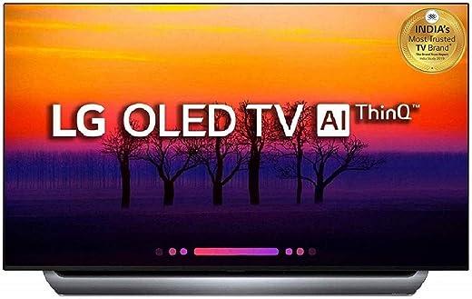 55 Inches OLED LG 4K UHD OLED Smart TV OLED55C8PTA