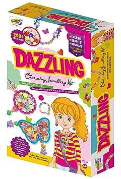 NHR Mansajis DIY Dazzling n Charming Jewellery Making Kit for Kids
