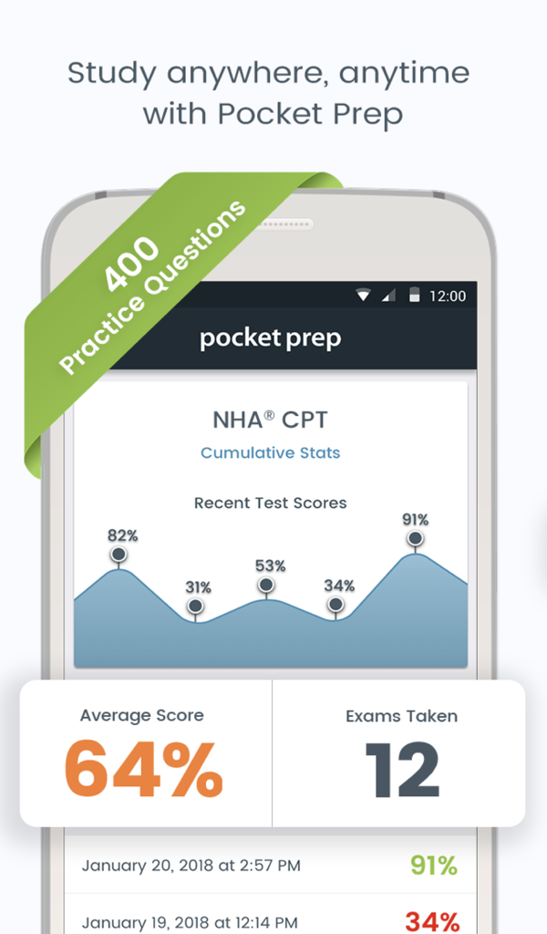 Amazon Nha Cpt Pocket Prep Appstore For Android