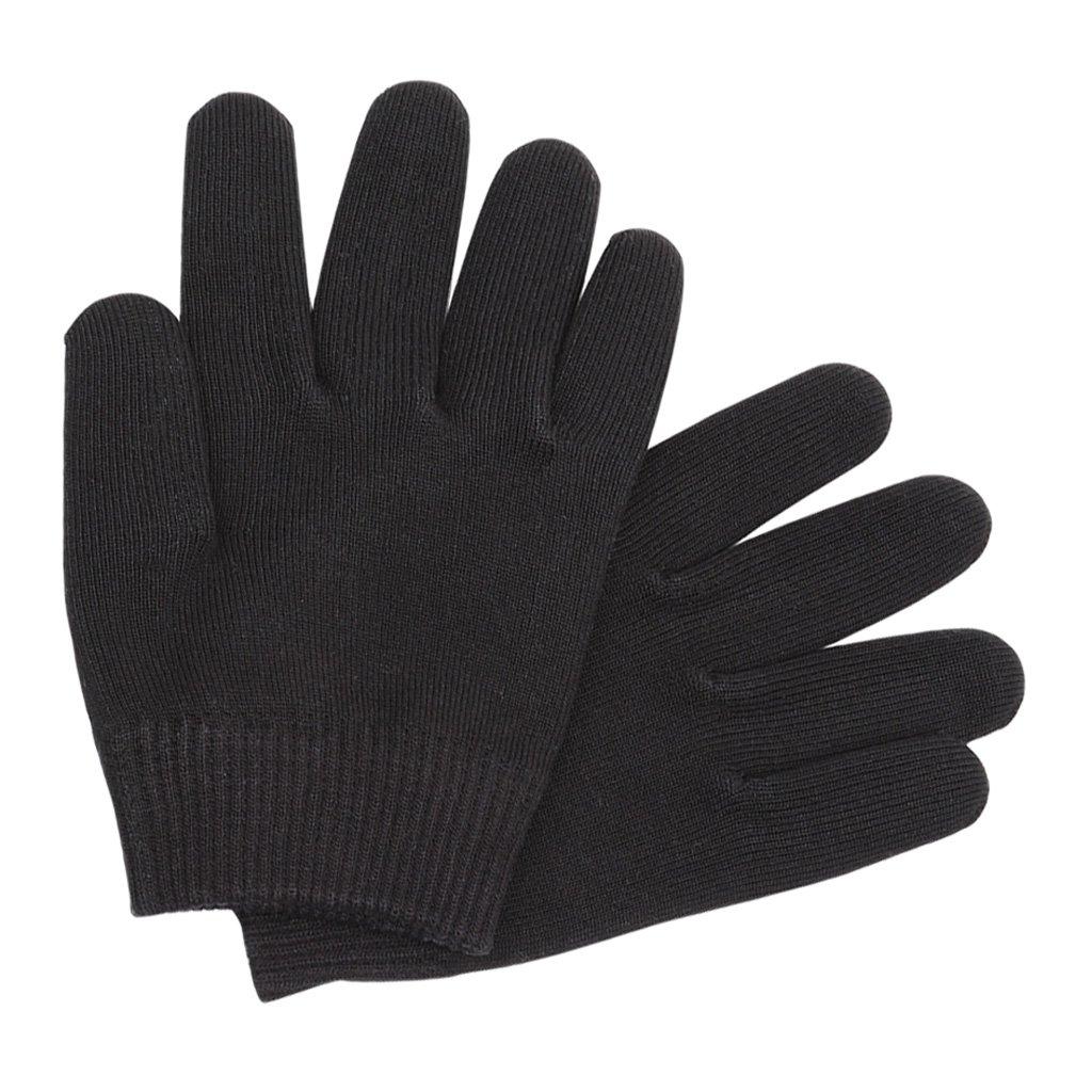 MagiDeal Gel Moisturizing Gloves for Dry Hands to Soften Moisturize Whiten Hand Black non-brand