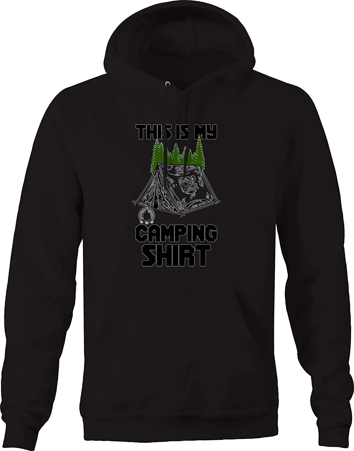 This is My Camping Shirt Tent Campfire Nature Sweatshirt