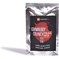 HealthifyMe Trail Mix Cranberry Crunch Dry Fruits and Nuts 120g (Pack of 4)