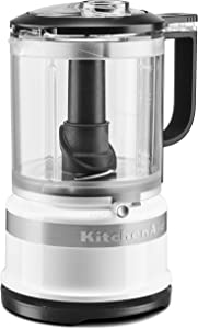 KitchenAid KFC0516WH 5 Cup whisking accessory Food Chopper, White