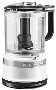 KitchenAid KFC0516WH 5 Cup whisking Accessory Food Chopper White