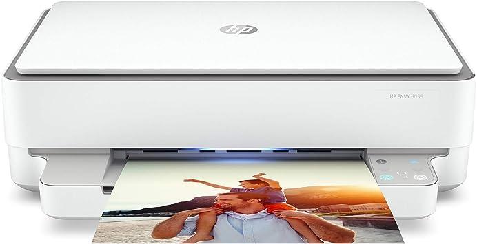 Hp Impresora Multifunción Inalámbrica Envy 6055 Impresión Móvil Escaneo Y Copia Funciona Con Alexa 5se16a Electronics