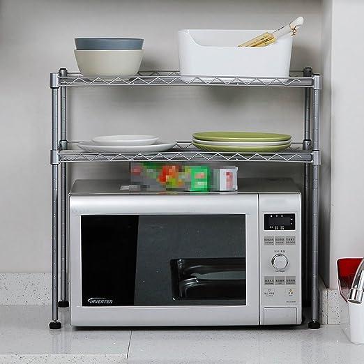 Kitchen storage Estantería de Metal para Horno de Cocina de ...