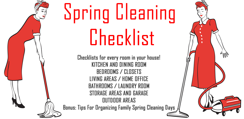 The 8 best spring cleaning checklist