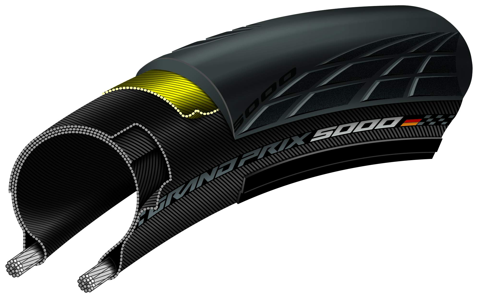 Grand Prix 5000 Performance Bike Tire