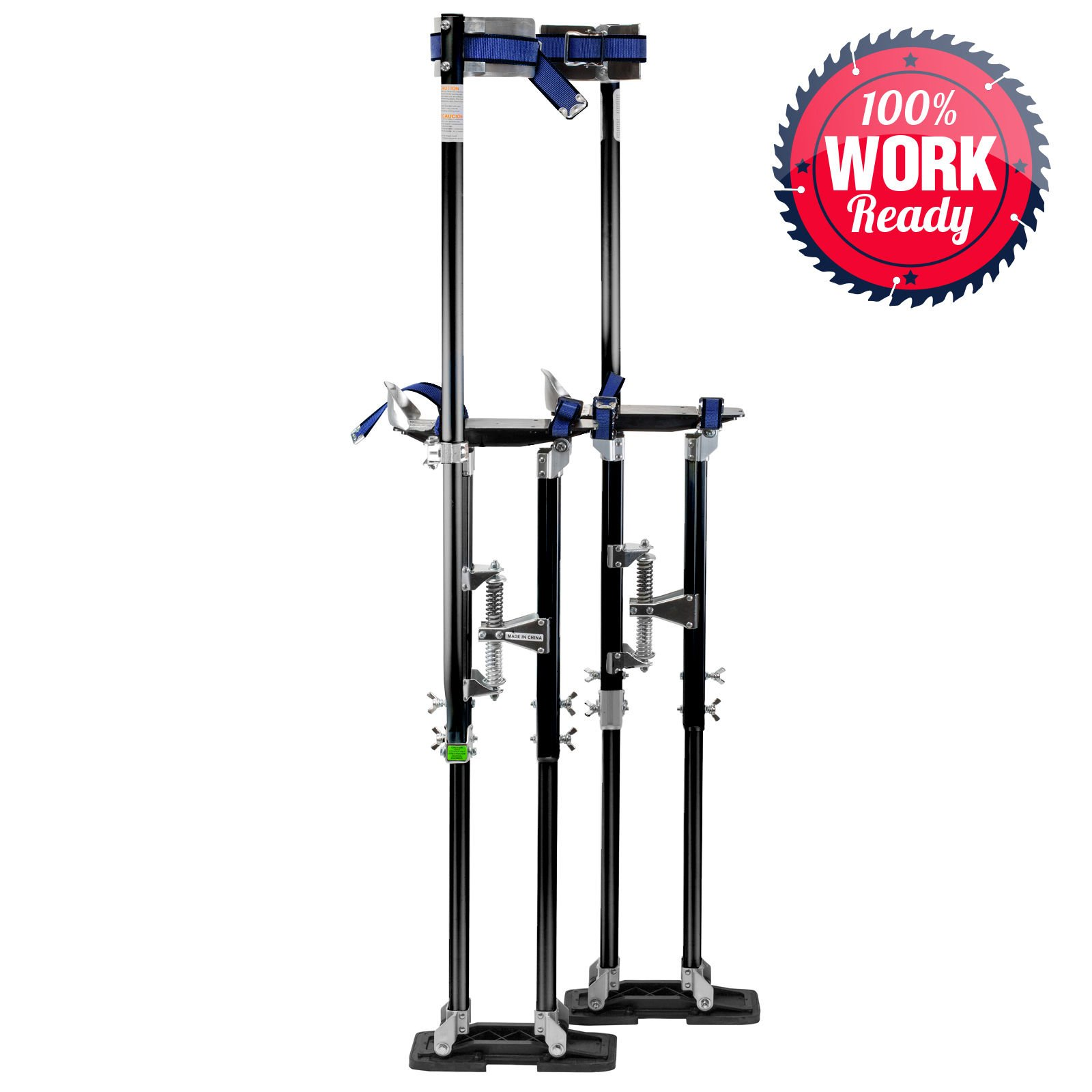 Drywall Stilts Painters Walking Taping Finishing Painting Tools Adjustable Aluminum 36'' - 48'' by AscendPro