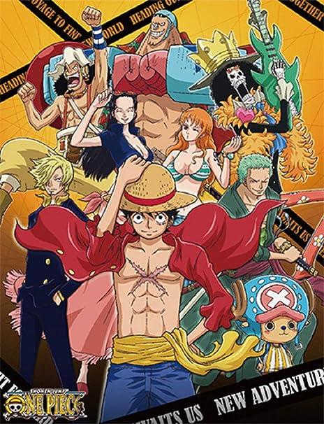 Amazon.com: Manta de una pieza de Anime – Luffy, Zoro, Sanji ...