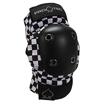Pro-Tec Black Checker Knee Pads S : Sports & Outdoors