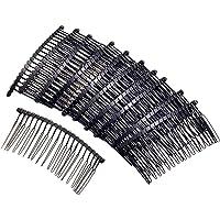 10 st metall ihåligt hår sidokammar retro hår kam hårklämmor huvudbonad med tänder för dam kvinnor flickor hårstyling…
