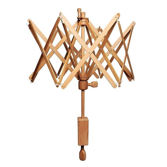 Knit Pro Winding y dispensador Accesorios Natural Swift Skein Winder: Amazon.es: Hogar