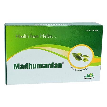 Jain Madhumardan Tablets 60s Diabetes Care at amazon