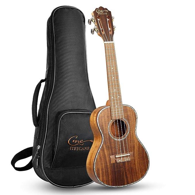 Ukelele,Hricane Ukeleles Concierto 23 Pulgadas Instrumento de Koa, Hawaiian Ukulele Profesional para Principiantes (23 Zoll): Amazon.es: Instrumentos ...