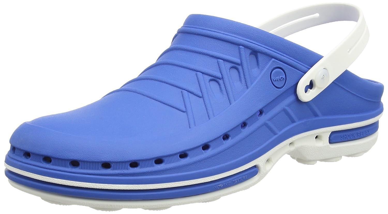 WOCK B075TYDDLP 4500100, WOCK Sabots Mixte Adulte 17040 Blau (Weiss/Medium Blue) 0f9d4ad - piero.space