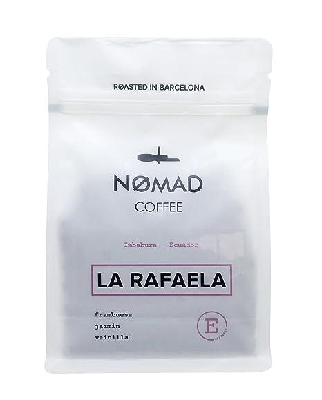 Nomad Coffee - Espresso Especial - Café de Especialidad en Grano, Tueste Espresso - Roasted