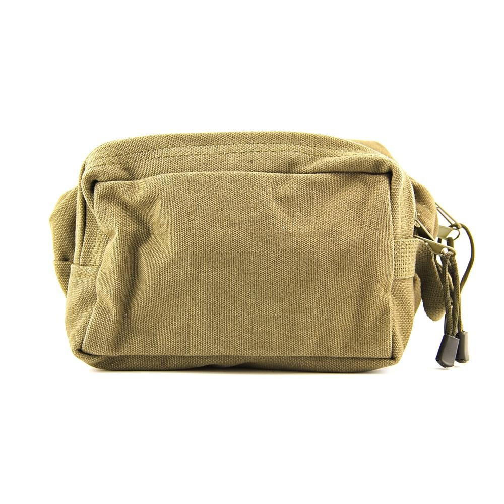 Rothco Dual Compartment Travel Kit Mens Green Travel Cotton Cosmetic Bags