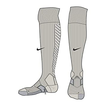 Nike Referee Kit Sock - Calcetines Unisex, Color Gris/Negro, Talla S: Amazon.es: Deportes y aire libre