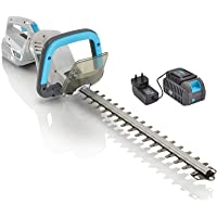 Swift Cordless Hedge Trimmer with 40V Lithium-Ion Battery Hedge Cutter 45cm Blade Length (Tool + Battery + Charger…