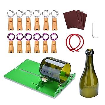 AGPTEK Kit de cortador de botellas de vidrio,Cortador de botellas ...