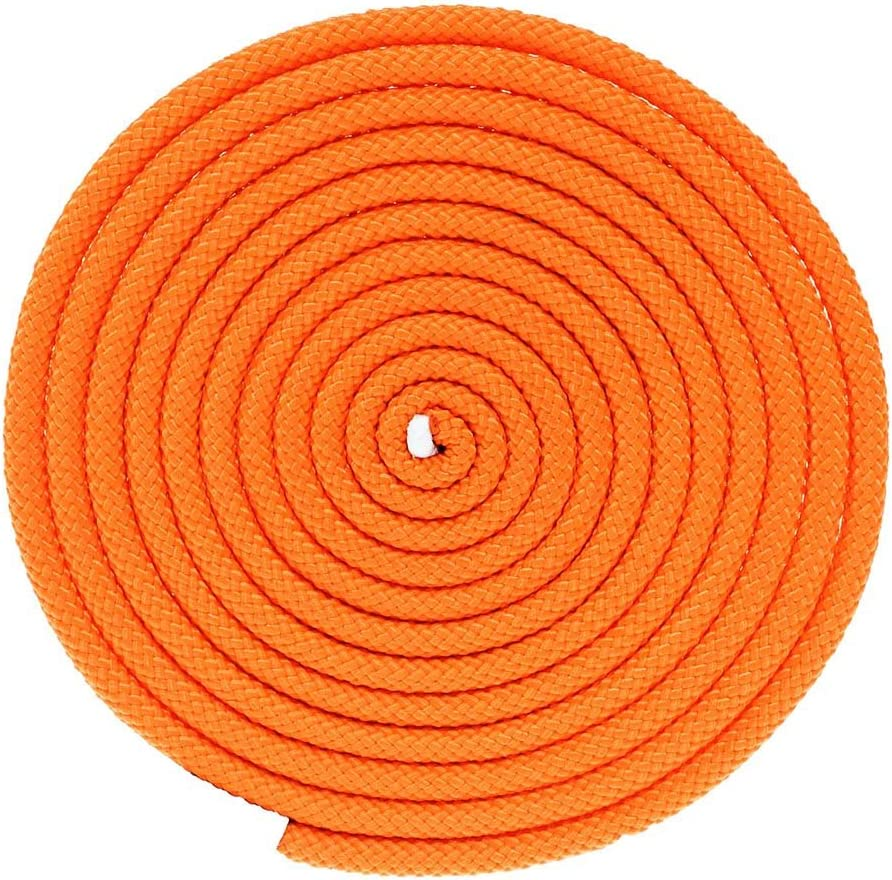 Nylon Utility Rope with Polypro Sheath High-Visibility Orange with Reflective Tracers, 3//8 Inch, 100 Feet