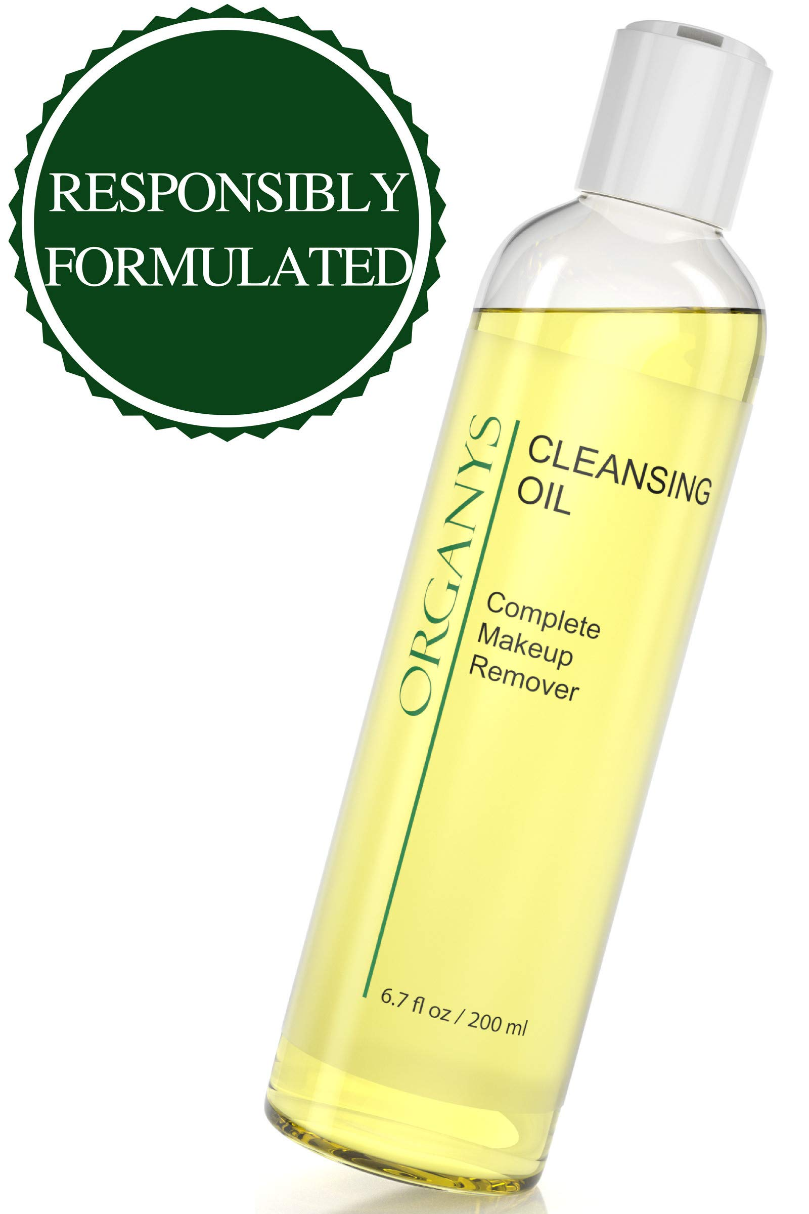 Organys Cleansing Oil   Makeup Remover Best Natural Anti Aging Gentle Daily  Face Wash Deep Cleanser ae2e3b7de7