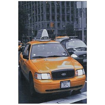 Bild Deco Manhattan New York Taxi Malen Nach Zahlen 30 X 20 Cm