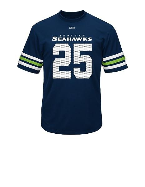 buy popular 8a053 5e9af NFL Seattle Seahawks Richard Sherman Men's 25 Great Game Fashion Top
