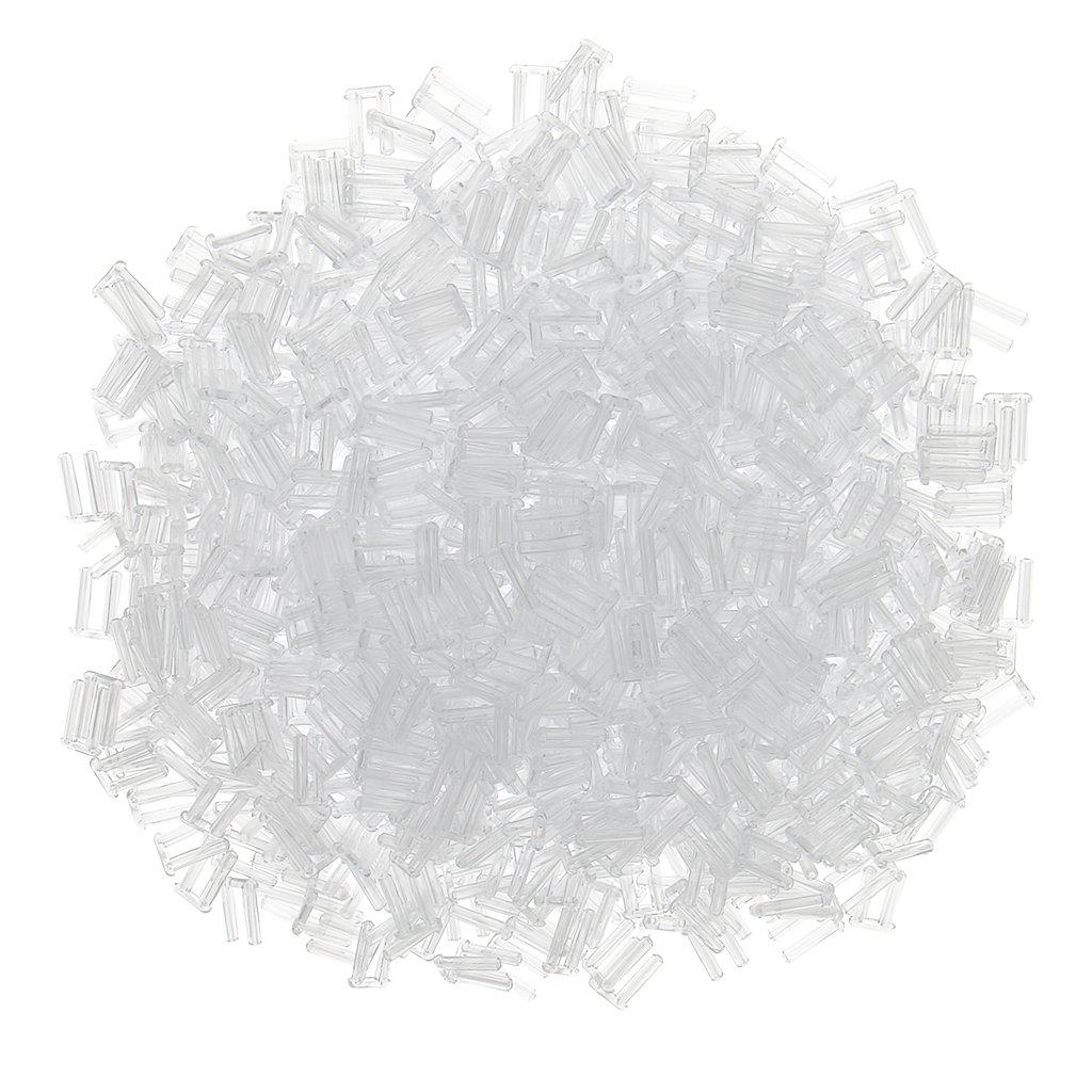 MagiDeal 1000x Doppio Tappo Di Plastica Per Strumento Di Fissaggio Della Lente Senza Montatura Per Occhiali