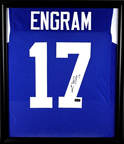 Image Unavailable. Image not available for. Color  Autographed Evan Engram  Jersey ... 1ddcb66d9