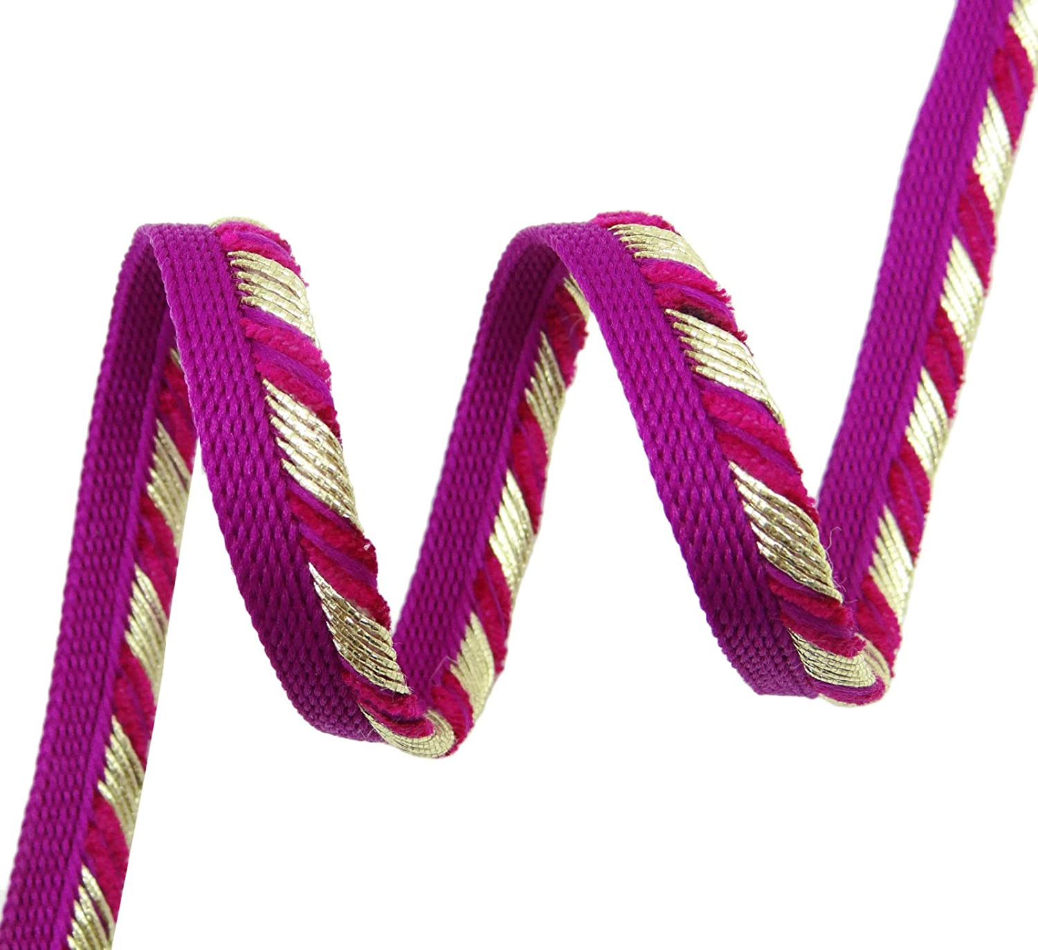Amazon Com 7 6 Mm Crafting Braided Trim Upholstery Lip Cord Piping